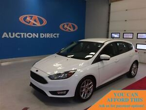 2015 Ford Focus SE, BLUETOOTH, BACK UP CAM, FINANCE NOW!