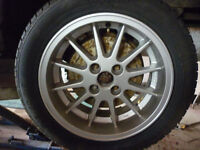 "set of 4 MIMs 4 x 100 15"" dia BMW VW"
