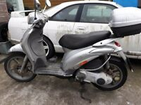 PIAGGIO LIBERTY 125cc 4 stroke 2007 MOT AND SERVICED