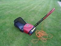 Mountfield Electric Garden Lawn Raker Scarifier