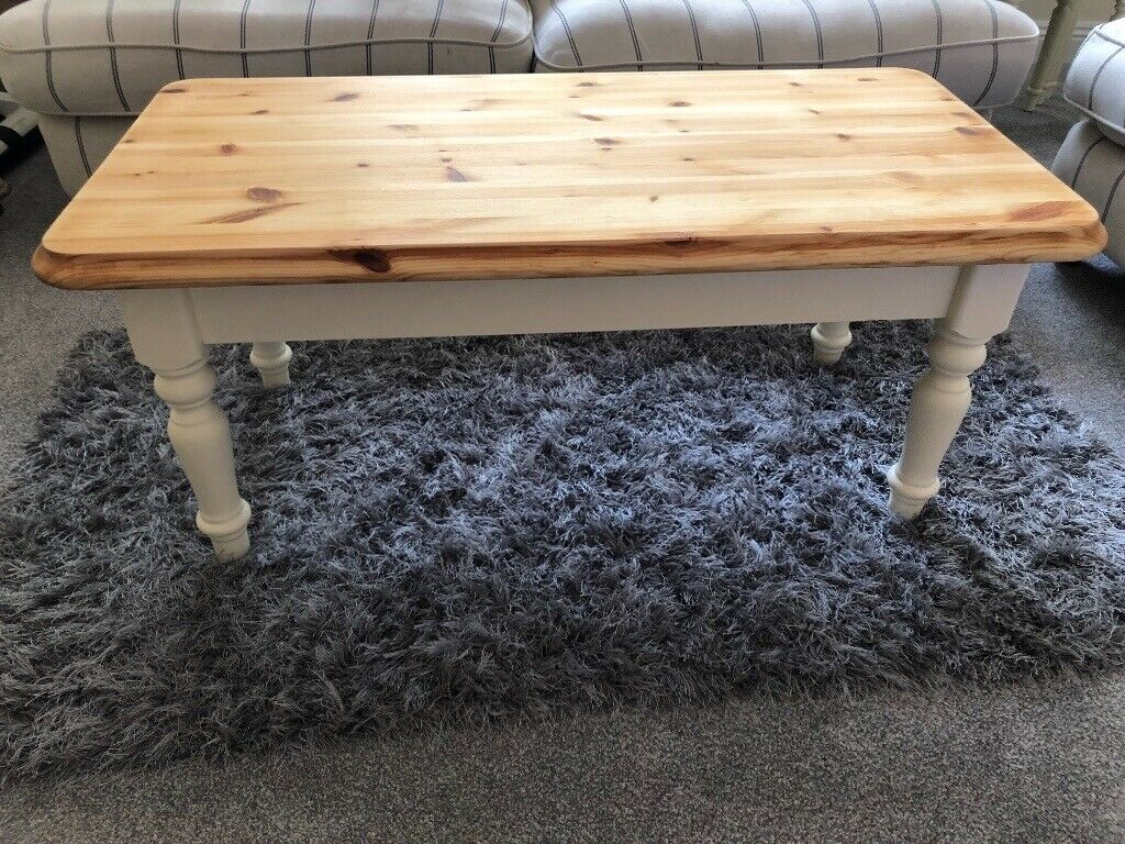 SOLID PINE UPCYCLED COFFEE TABLE | in Lytchett Matravers ...