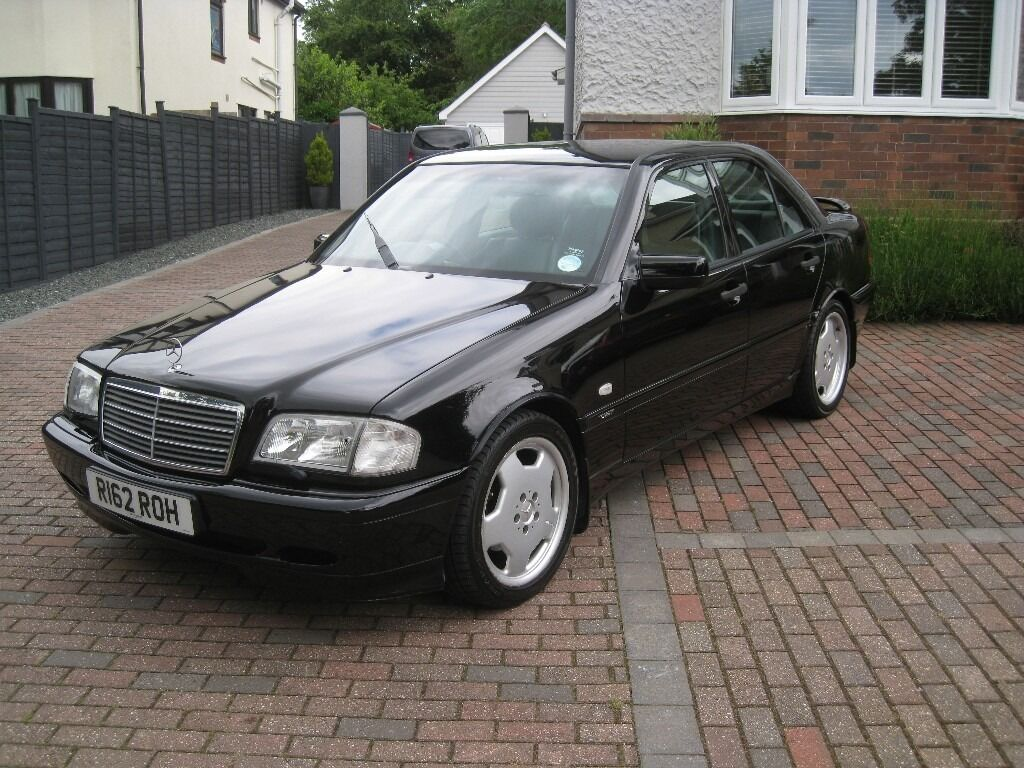1998 mercedes c240 sport amg excellent example with just 89k in exeter devon gumtree. Black Bedroom Furniture Sets. Home Design Ideas