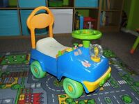 Disney characters toy car with light and music