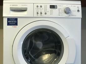 Bosch washing machine German made strong and reliable model hardly use digital display easy to use