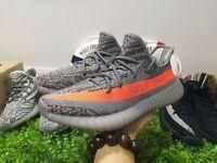 Adidas Yeezy 350 Boost V2 grey orange 09