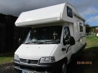 Fiat Cariocca 656 Motorhome with 12 months MOT.