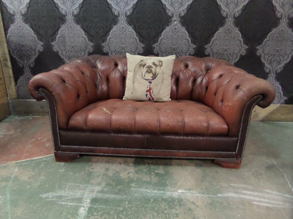 Shabby Chic Pendragon Chesterfield 2 Seater Sofa Uk Delivery In Whickham Tyne And Wear Gumtree