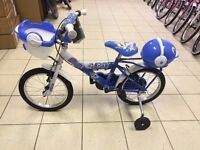 "12"", 14"" & 16"" Kids Bikes for Clearance prices!"