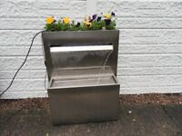 water feature planter.