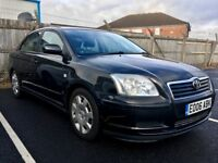 Toyota Avensis 1.6 (2006) great condition new tyres slight fault