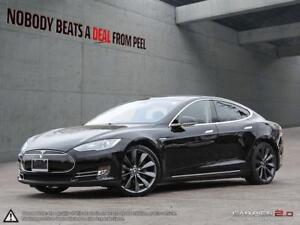 2014 Tesla Model S 85 SMART Suspension, 21Whls, Sunroof, New Tir