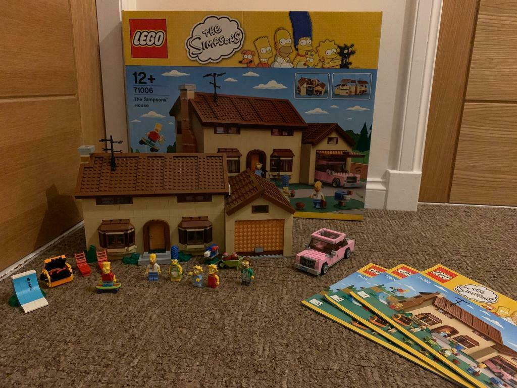 Lego 71006 The Simpson/'s House REDUCED INSTRUCTIONS ONLY