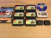 Nintendo + sega + GameCube games + jumper paks