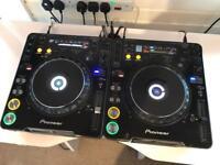 Pioneer CDJ 1000 MK3 + CDJ 1000 MK2 Pair DJ Decks CD Players