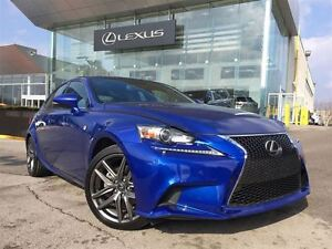 2015 Lexus IS 250 F-Sport Series Pkg AWD Leather Bluetooth Heate