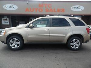 2008 Pontiac Torrent LEATHER, SUNROOF, LOW MILEAGE, AWD