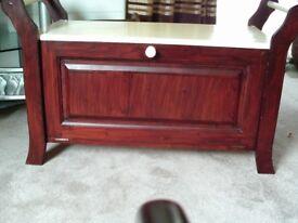 Wooden Shoe Storage Box /Chest Bench Seat
