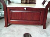 Wooden Shoe Storage Box /Chest Bench Seat