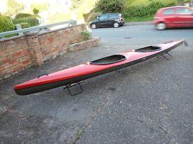 Kirton Tasman Tandem Kayak. Showroom condition