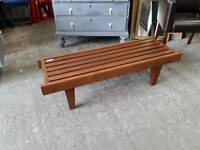Hardwood Bench - Delivery Available