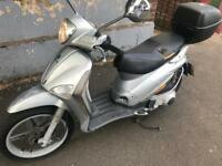 Piaggio Liberty Delivery Bike Motorbike Scooter Moped Motorcycle