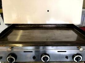 Lpg hot plate griddle