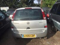 VAUXHALL MERIVA LIFE TWINPORT 2005- FOR PARTS ONLY