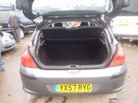 Peugeot 308 S DT,1560 cc 5 door hatchback,FSH,full MOT,clean tidy car,runs and drives well,great mpg