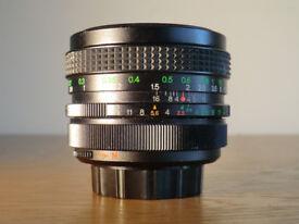 Vivitar Wide angle 28mm lens