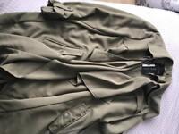 New look lightweight dressy duster coat