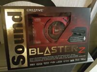 Sound Blaster Z - Audio Card For PC