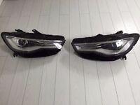 Genuine audi a6 c7 facelift led xenon headlights 2015