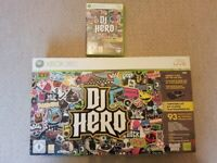 DJ Hero - Turntable and DJ Hero game for Xbox 360 (boxed)