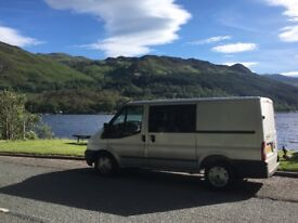 Ford Transit Limited Camper, Rare Twin Sliding Doors