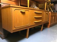Retro sideboard - nice design with cool legs vintage mid century danish g plan ercol tv unit stand