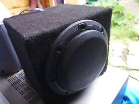 """JL AUDIO W3v3 6-1/2"""" 150W SUB WOOFER in custom box"""