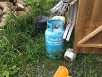 Empty Shell Gas Bottle