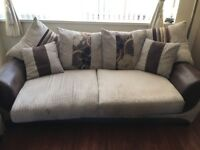 Three and Two Seater couches in good condition. 2 years old, pet/smoke free. Labels still attached