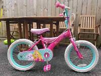 "16"" inch Barbie bike"
