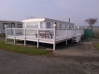 Luxury Butlins static caravan for sale on site at Butlins Skegness