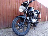 Honda CBF 125 (Unfaired)