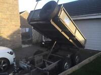 Ifor Williams tipper tipping trailer 8x5