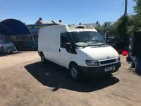 Ford transit fridge van. Chiller. Lwb panel van 2005 54 Reg