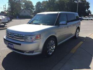 2010 Ford Flex Limited Leather Sunroof Chrome Wheels Windsor Region Ontario image 4
