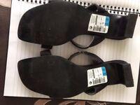 M & S BLACK LADIES SANDALS