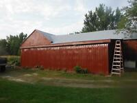 STEEL ROOFING & BARN PAINTING