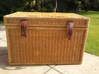 Rattan chest large and small