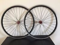 Front and Rear Wheel Single Speed Fixie Wheelset
