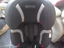 Graco Nautilus High Back Car Booster Seat Groups 1 2 And 3 Adjustable Head Height