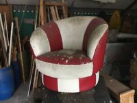 Retro Chair project to recover